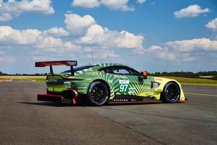 Aston Martin Reveals New Wec Livery Dailysportscar Com