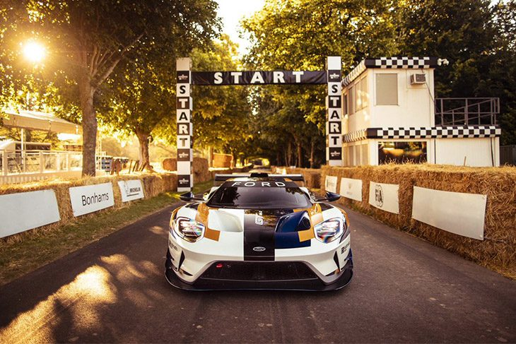 Ford GT Mk II Unveiled at Goodwood