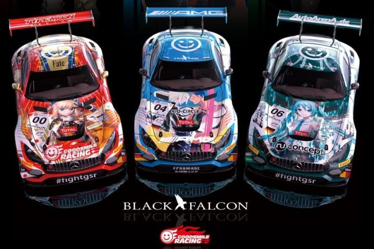 Black Falcon To Run Anime Liveries At Spa 24 – dailysportscar.com
