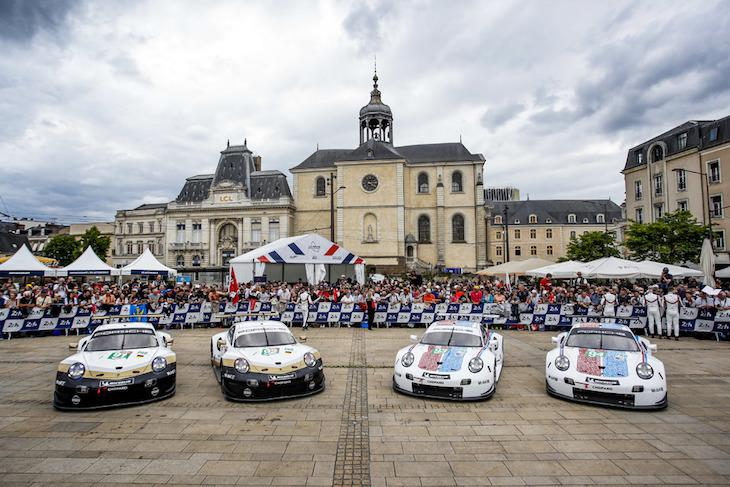 Porsche Confirm 2020 Works Drivers Programmes Dailysportscar Com
