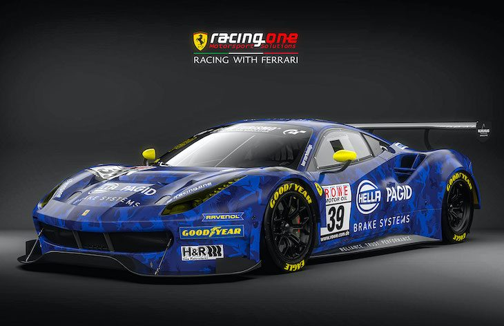 Racing One Move Up To Sp9 With Ferrari 488 Gt3 Evo Dailysportscar Com