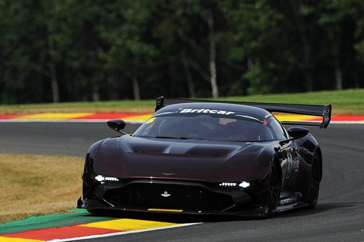 On Track With The Aston Martin Vulcan Video Dailysportscar Com