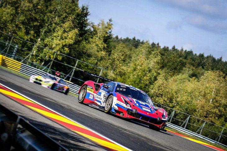 Smp Ferrari Tops Final Day Of Spa 24 Test Days Dailysportscar Com