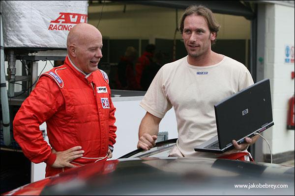Phil Burton/Adam Wilcox - Predator CCTV Racing Ferrari 430 Scuderia