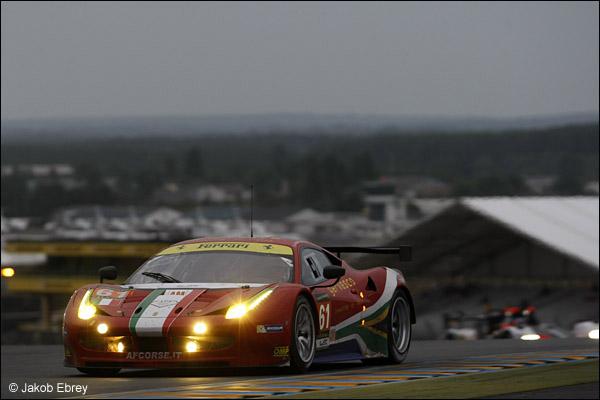 Jack Gerber / Matt Griffin / Marco Cioci AF Corse Ferrari 458 Italia