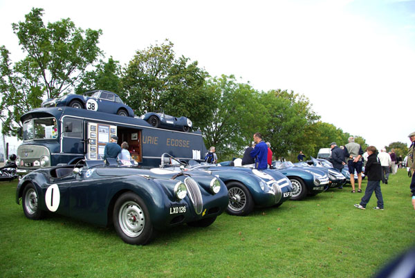 Kop Hill Climb Ecurie Ecosse Collection Paddock