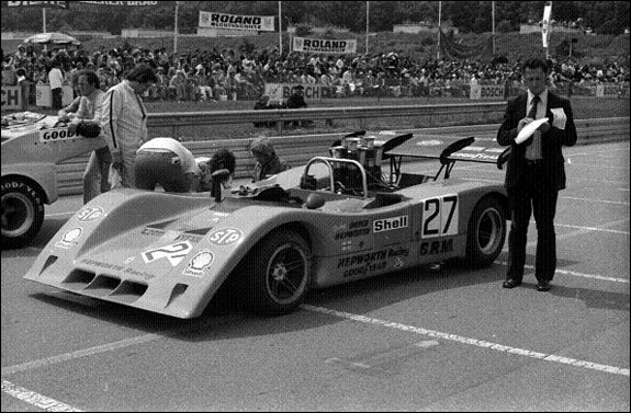 On the grid ad the Norisring. (Ian Wagstaff)