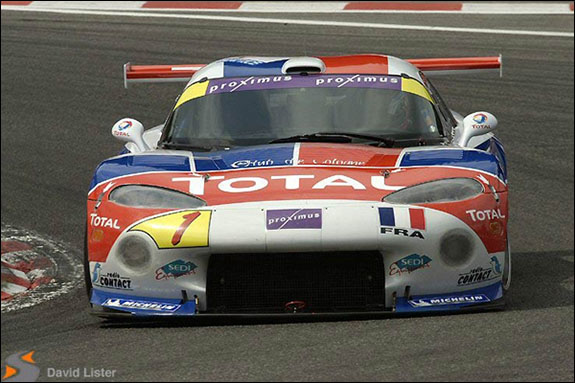 Larbre was successful with Porsche, Ferrari and Viper over a decade ago - pictured is a Larbre Viper at Spa in 2003